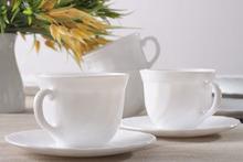 LUMINARC TRIANON - Serwis kawowy na 6 osób 220 ml