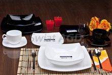 LUMINARC QUADRATO - Serwis obiadowo-kawowy 60 części na 12 osób