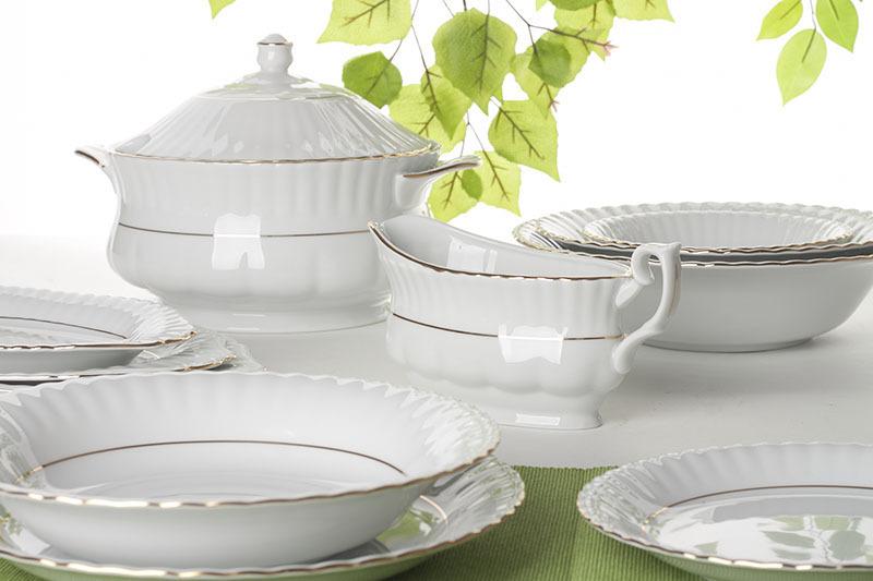 Zestaw Porcelany Obiadowej Idealny Na Start Od Producenta Chodzież